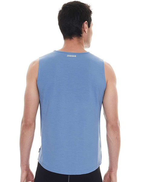 On The Line Coronet Blue Muscle Tank