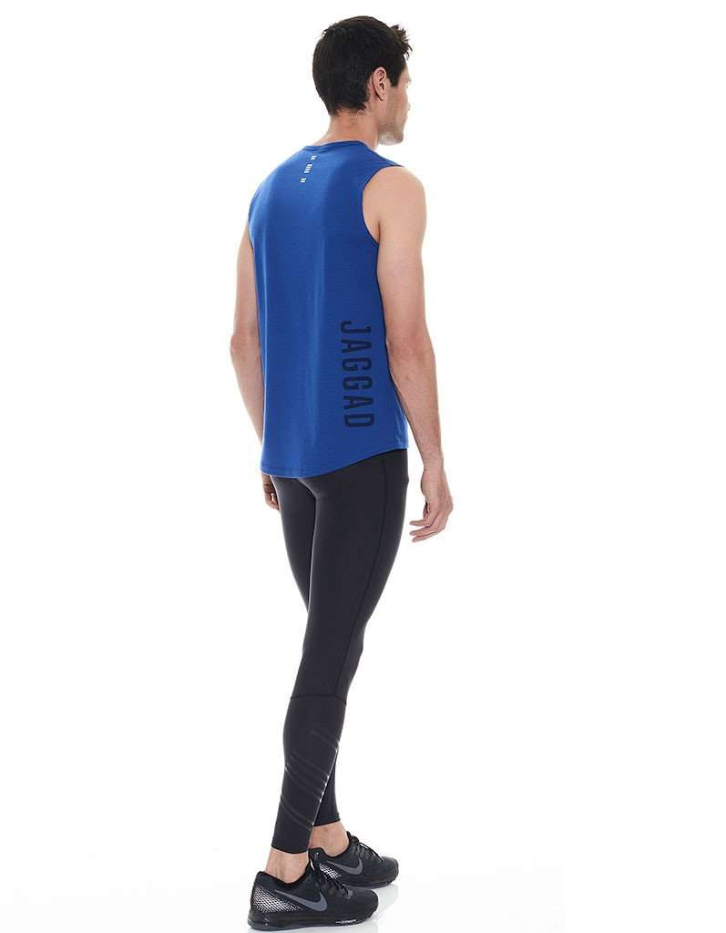 Men's Ultraviolet Jaggad Muscle Tank