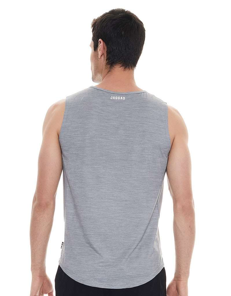 On The Line Grey Muscle Tank