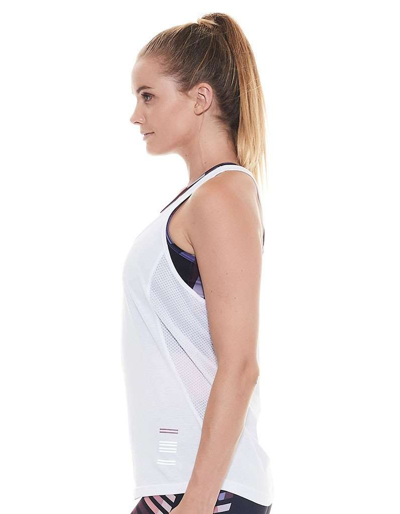 Point Blanc Racer Back Singlet