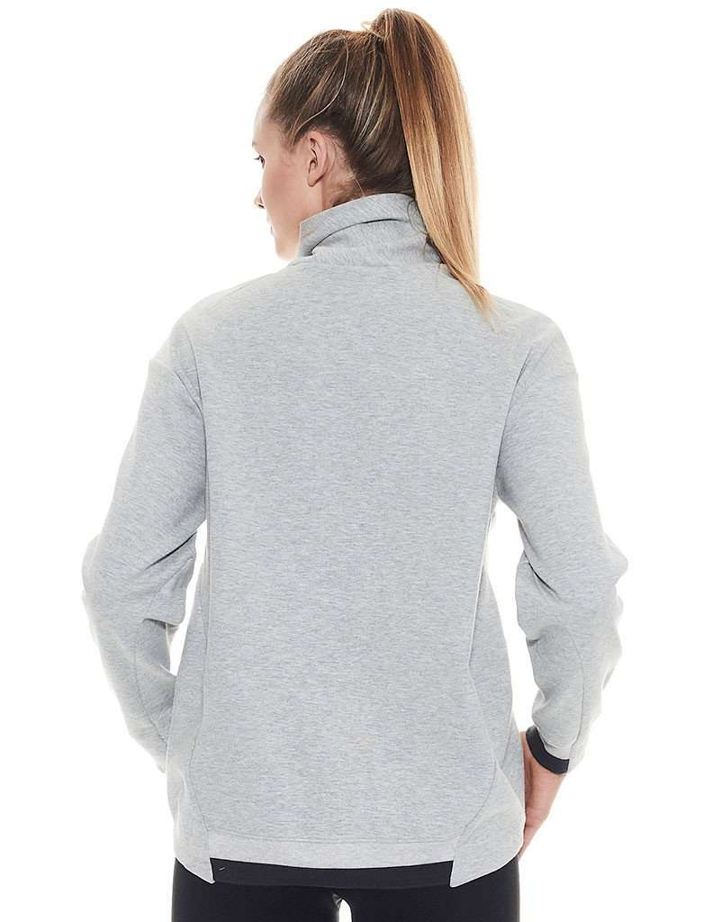 Women's Clouded Turtle Neck Sweat