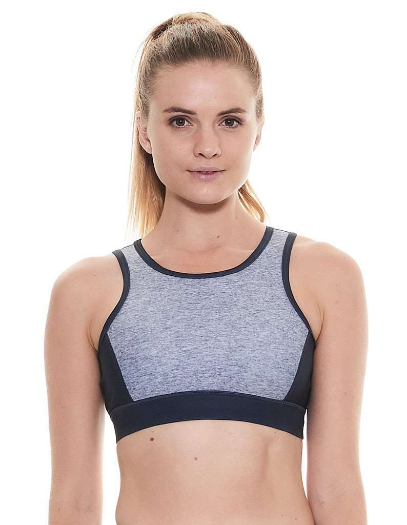 Silvery Smoke Crop Top