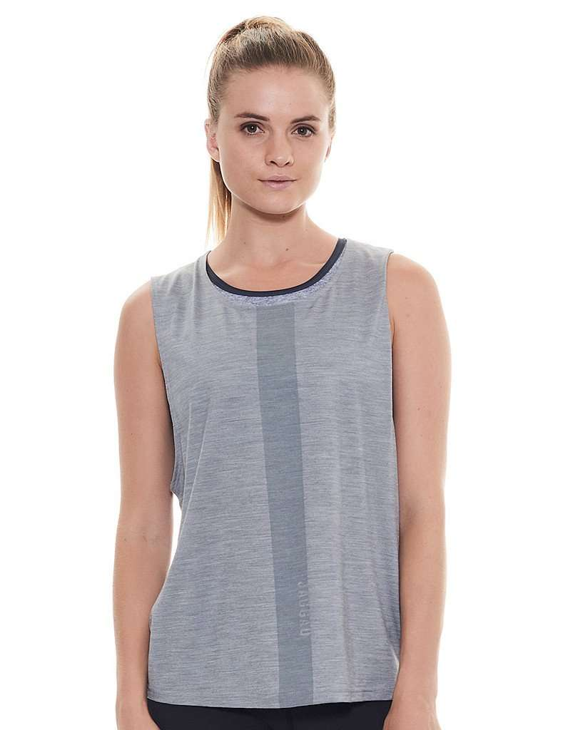 Women's Aurora Muscle Tank Grey