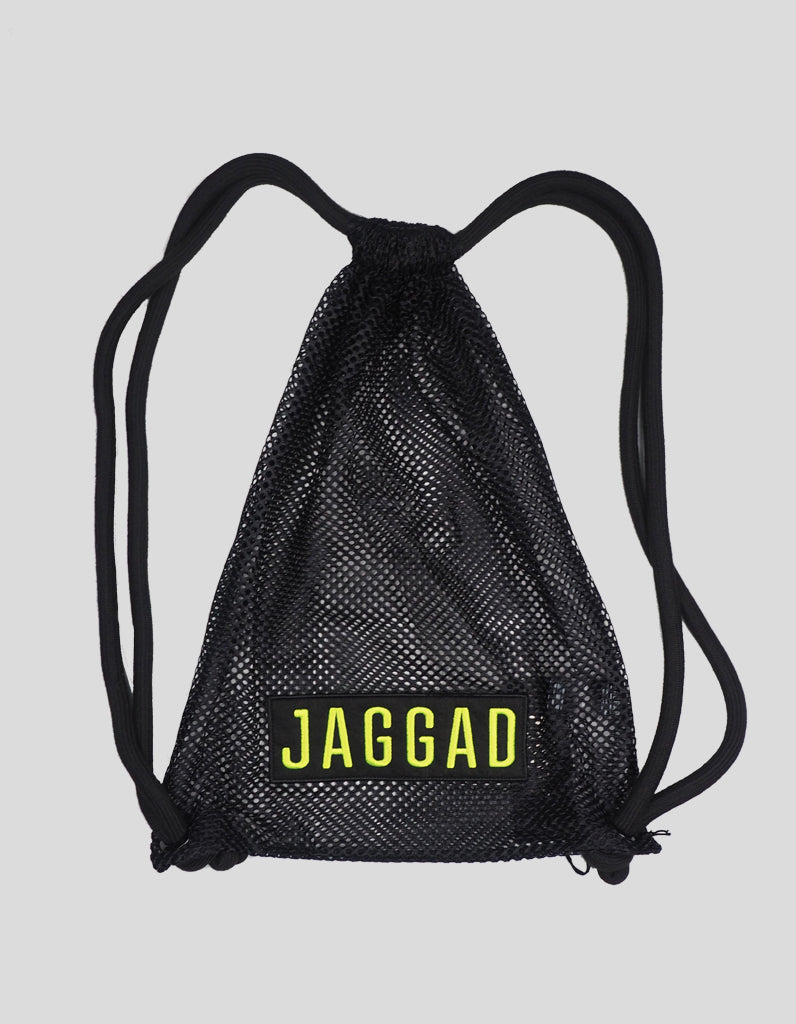 Kansas Black Mesh Backpack
