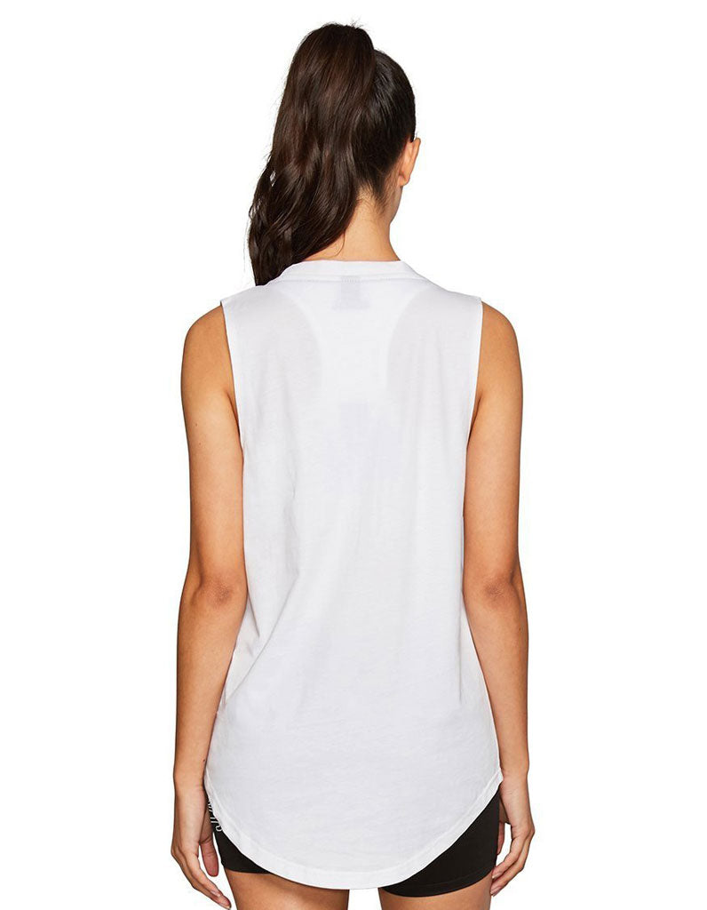 Women's Core Muscle Tank White