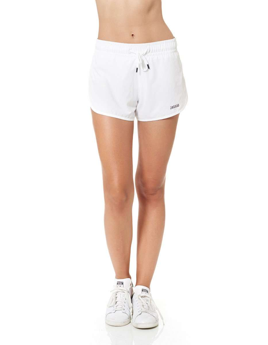 Women's Run Shorts White