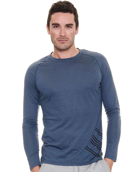 Men's Bamboo L/S Run Top