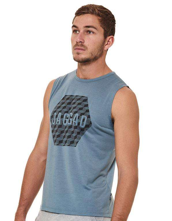 Men's Bonsai Print Muscle Tank