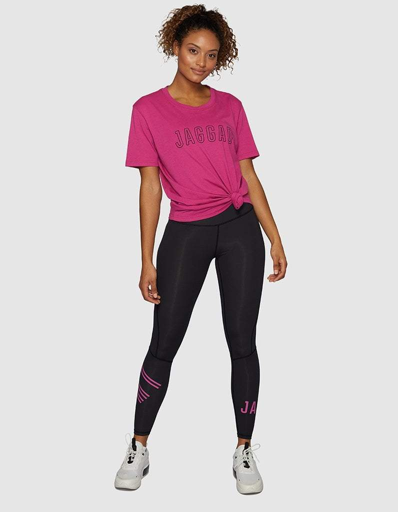 Fuchsia Compression Leggings