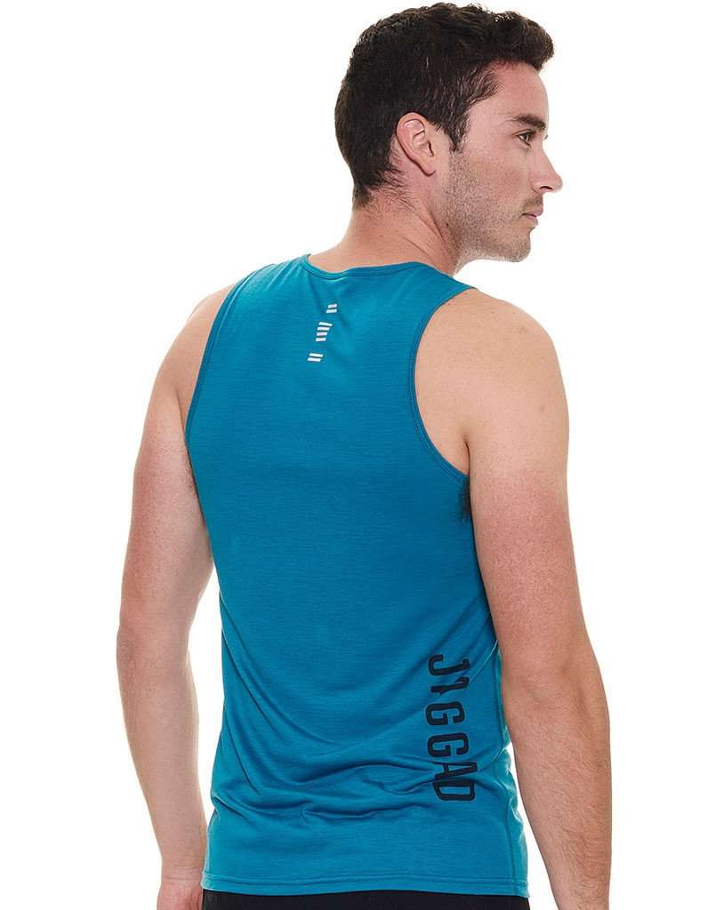 Men's Harbour Blue Singlet