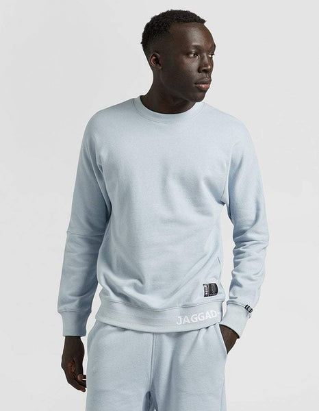 Pale Blue Crew-Neck Sweater