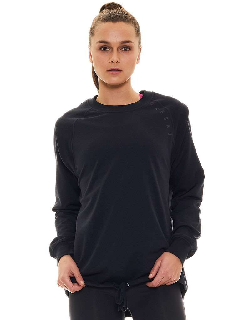 Moonstone Shoulder Panel Sweat