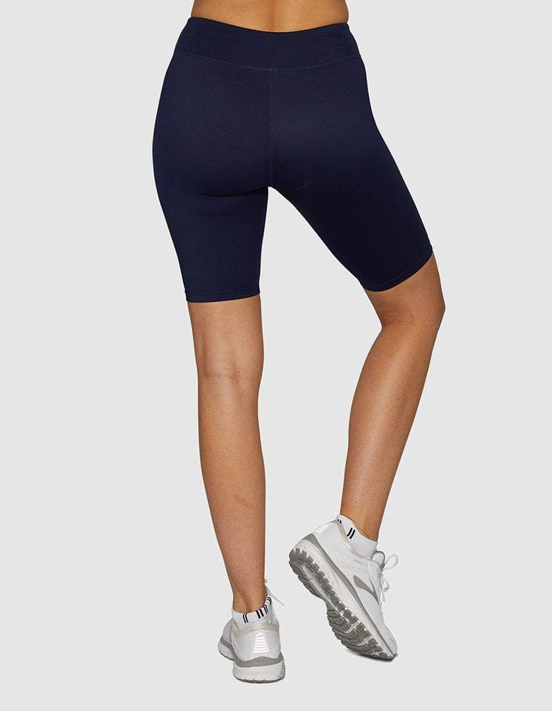 Navy Core Spin Shorts