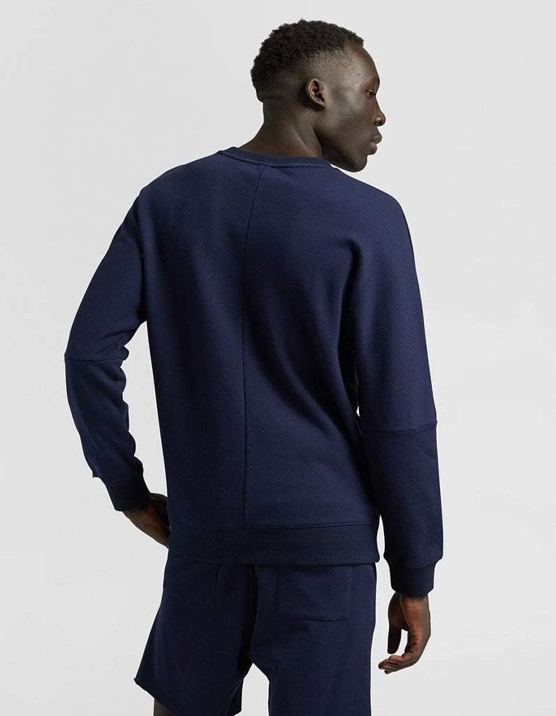 Navy Crew-Neck Sweater