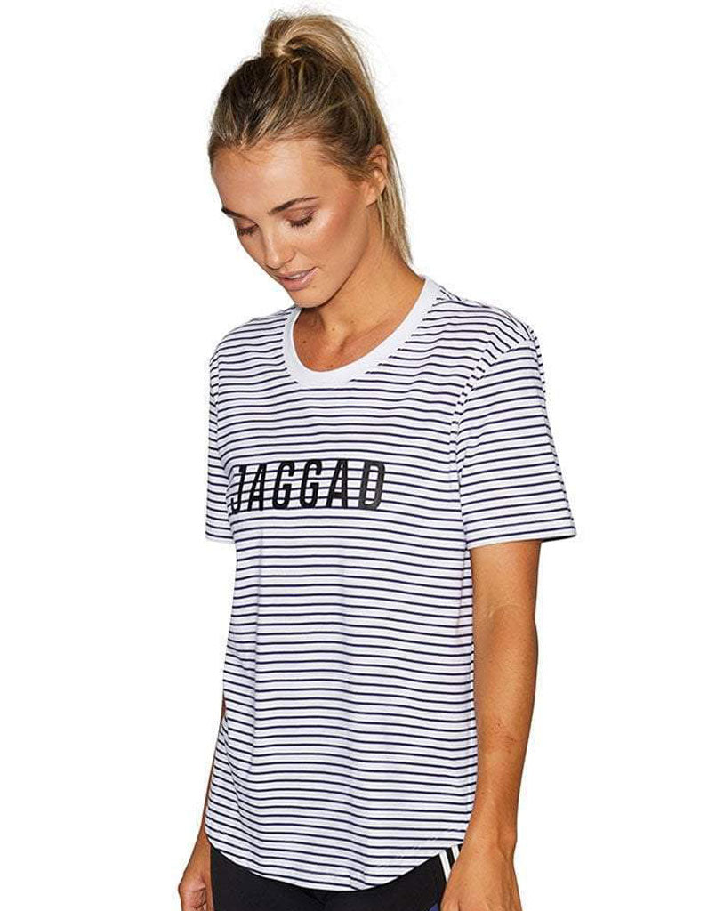 Offside Striped Classic Tee