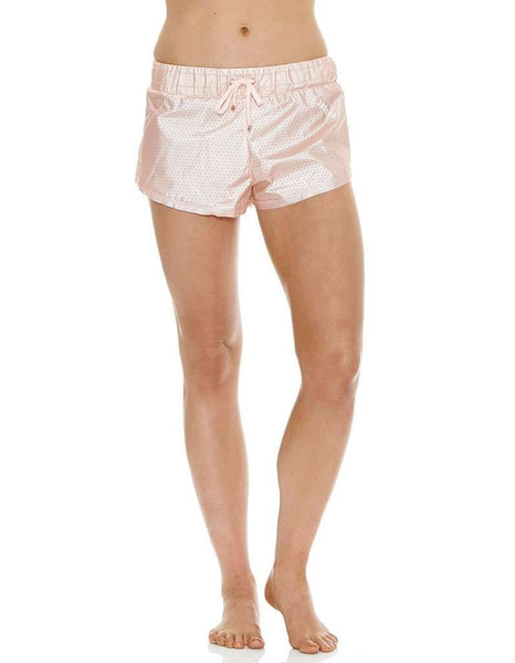 J'Aton X Jaggad Rose Gold Shorts