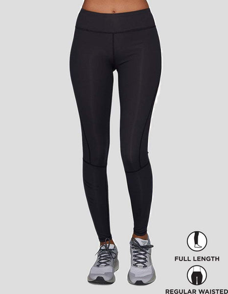 Black/Black Compression Leggings