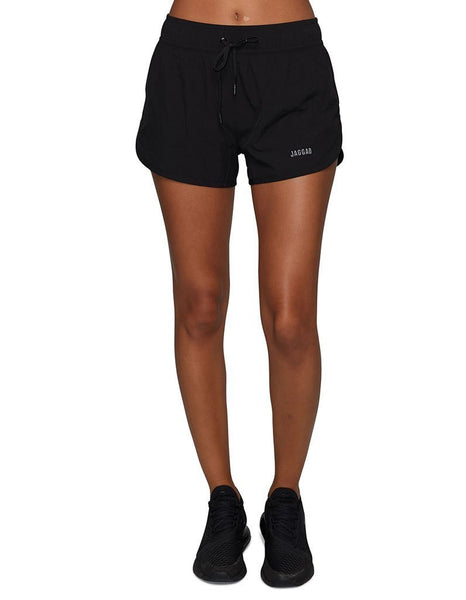 Women's Core Run Shorts-Black