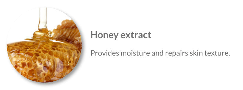 anti aging serum ingredient honey extract
