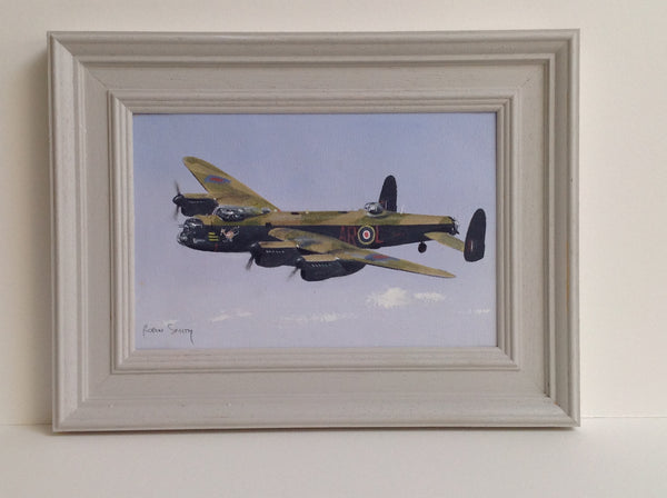 Original oil painting Lancaster