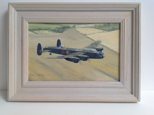 Original oil painting 'Lancaster'