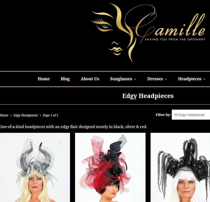 Camille Site Makeover