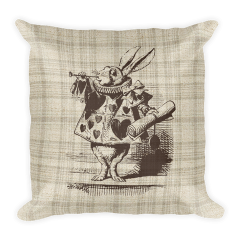Square Pillow, Alice