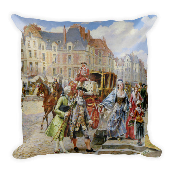 Square Pillow, Rue de Paris