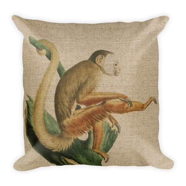 Square Pillow, Monkey