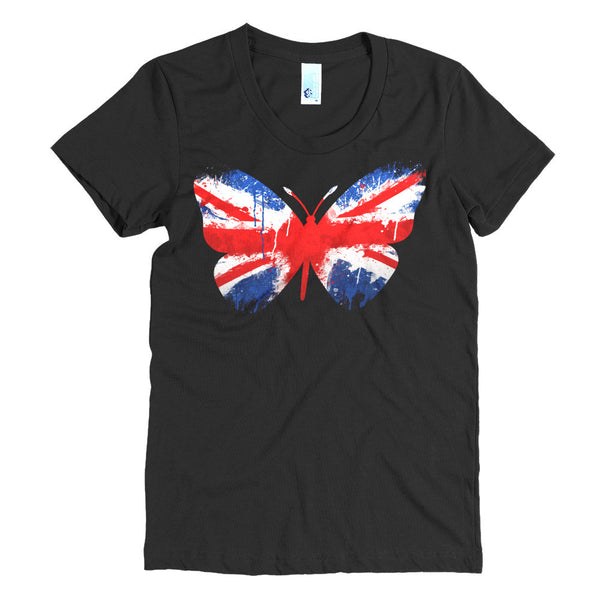 Short Sleeves Tee, UK Butterfly