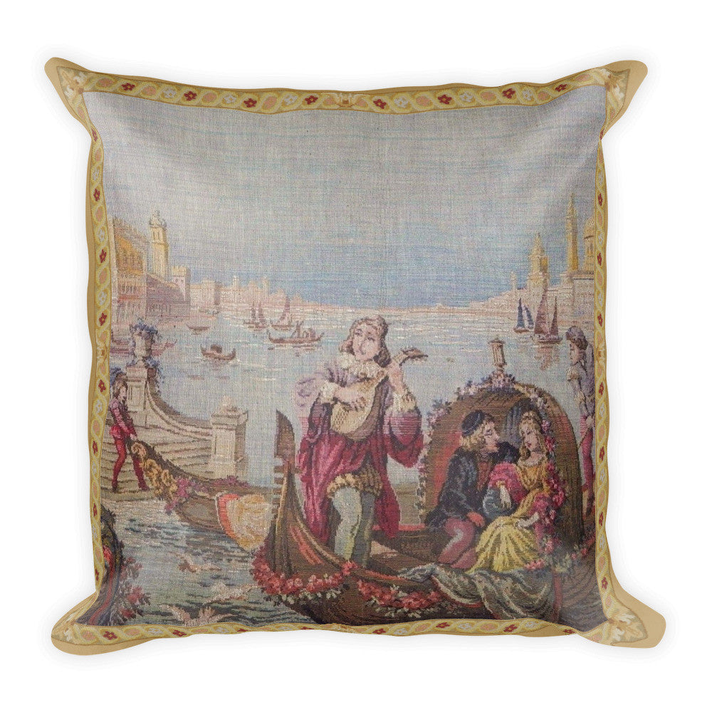 Square Pillow, Venice