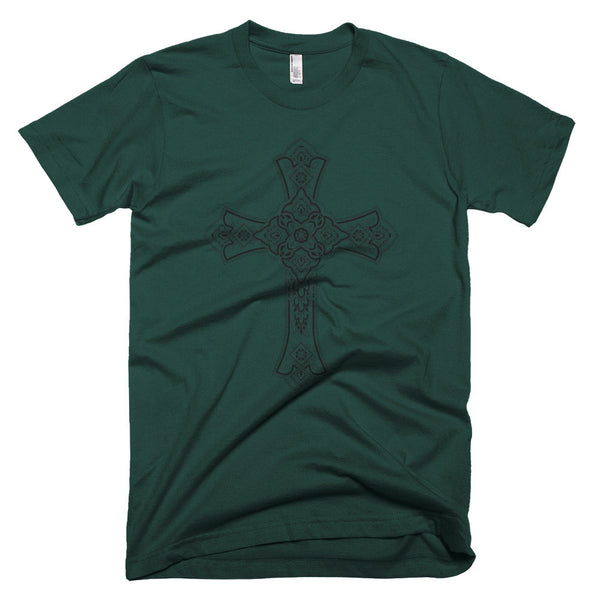 Short Sleeves Tee, Paisley Cross