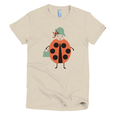 Short Sleeves Tee, Lady Bug