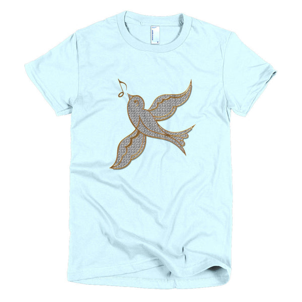 Short Sleeves Tee, Singing
