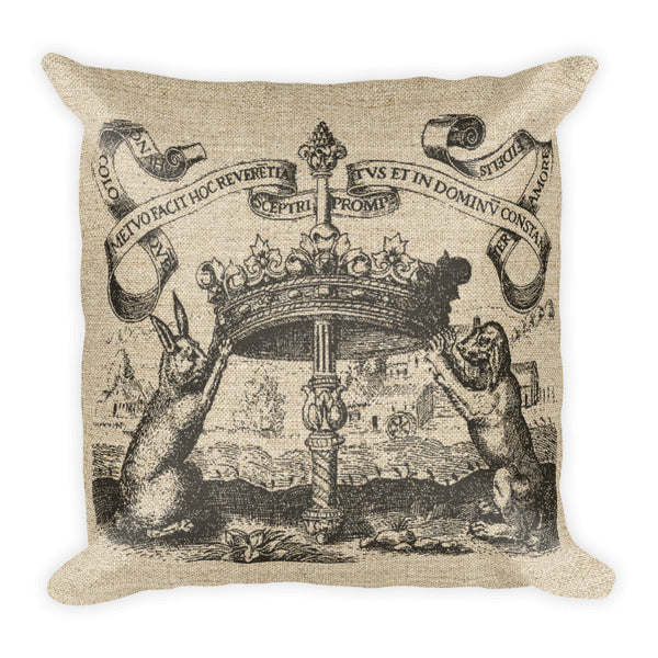 Square Pillow, Crowned