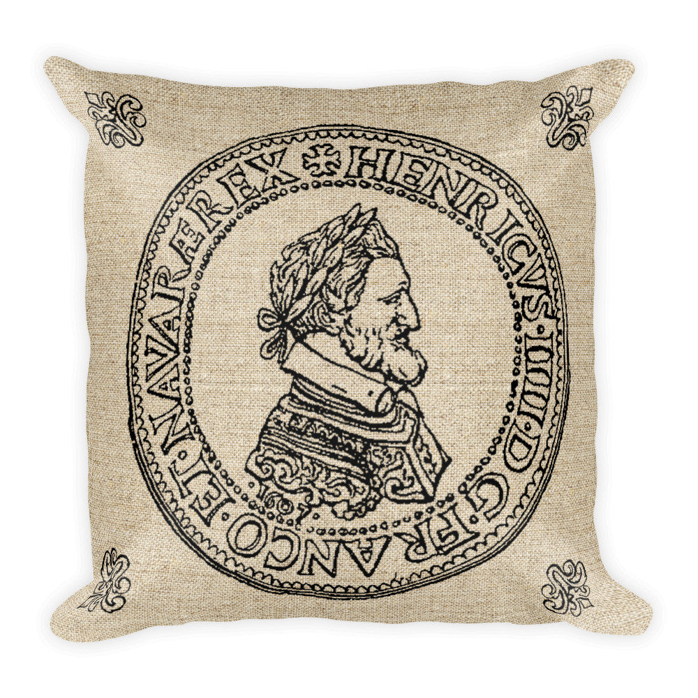 Square Pillow, Henri V