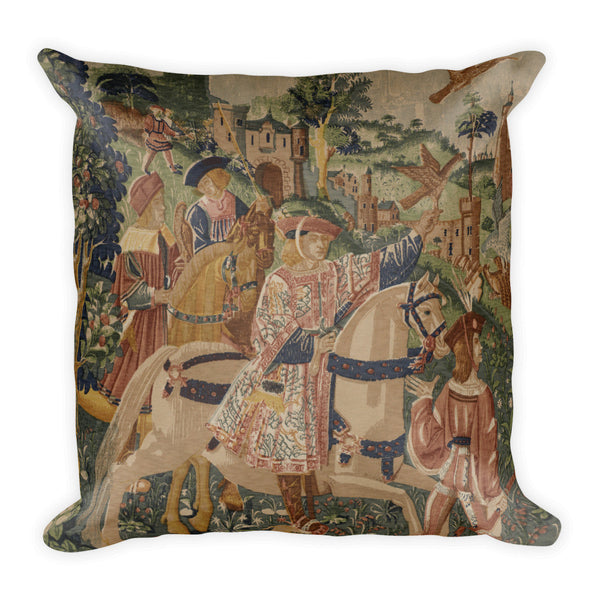 Square Pillow, La Chasse