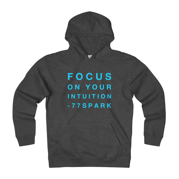 """ Focus on you intuition"" Adult Unisex Heavyweight Fleece Hoodie"
