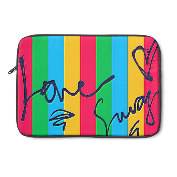 """ Love Swag"" Laptop Sleeve"