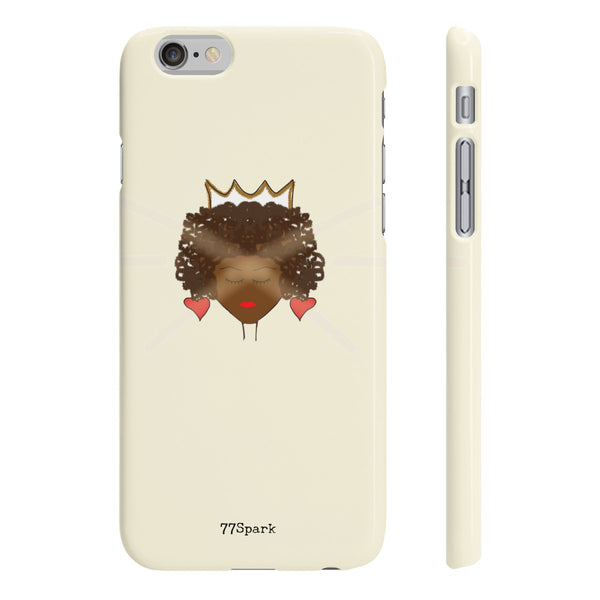 """ Queen"" Slim Phone Cases"