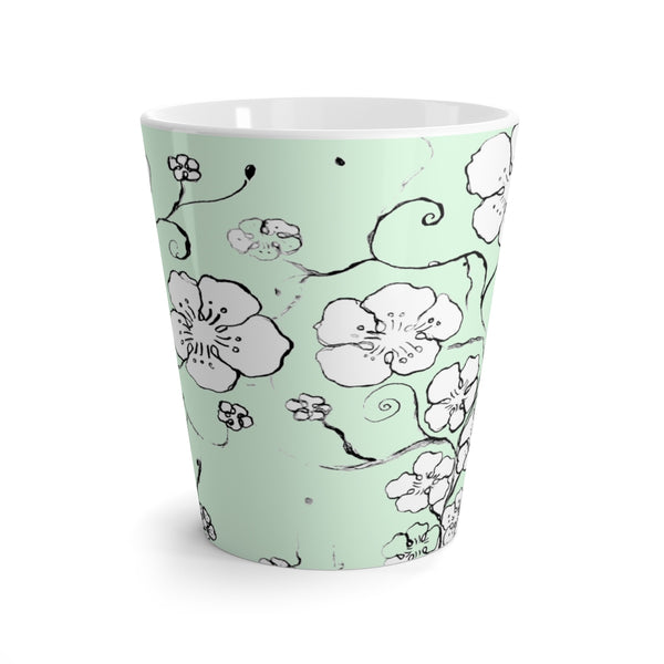 """ Cherry Blossoms"" Latte mug"
