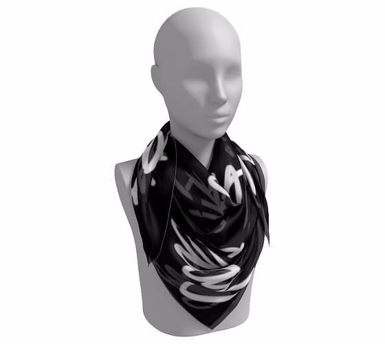 """Slay"" Square Scarf"