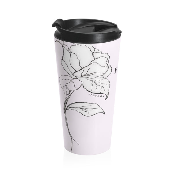 """ Fabulous"" Stainless Steel Travel Mug"