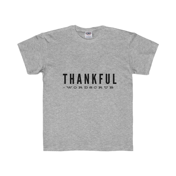 """ Thankful "" Youth Regular Fit Tee"