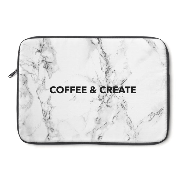 """ Coffee & Create"" Laptop Sleeve"