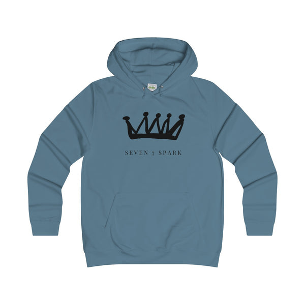 """ Crown"" Girlie College Hoodie"