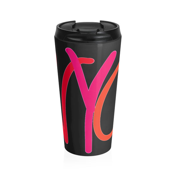 """ NYC"" Stainless Steel Travel Mug"