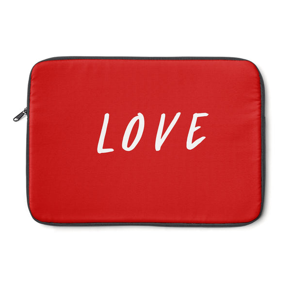 """ Love"" Laptop Sleeve"