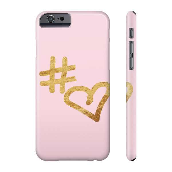 """  Hashtag Love "" Phone cases"