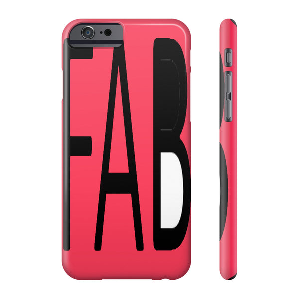 """Fab"" Phone cases"